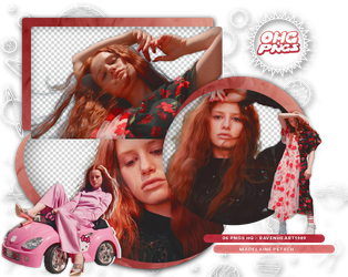PACK PNG 142 // MADELAINE PETSCH by OMG-PNGS