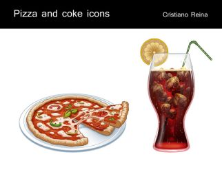 Pizza icon by CristianoReina