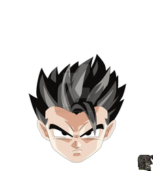 Base Gohan by hollowkingking