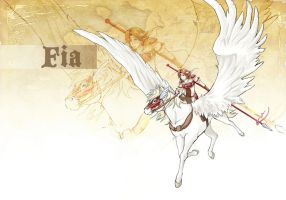 Pegasus Knight by Littling