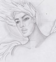 Androgynous Angel by neonaries300