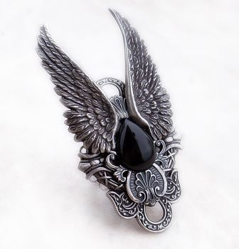 Dark Angel Ring by Aranwen