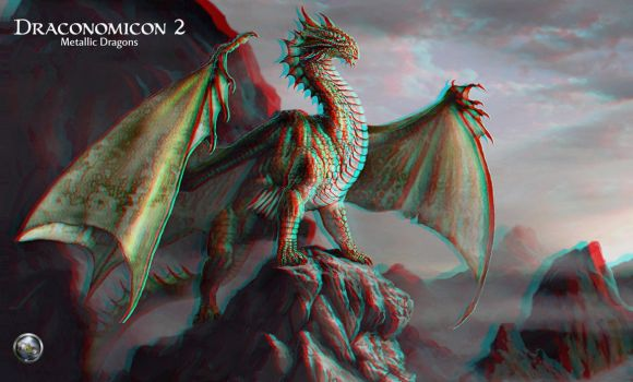 Draconomicon Conversion 3D by Fan2Relief3D