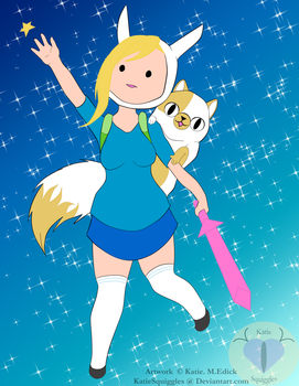 Adventure Time FanArt by KatieSquiggles