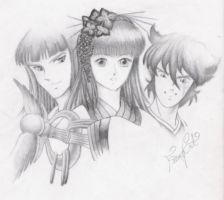 Ronin Warriors for Seany by FaeryCat
