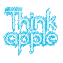 Thinkapple Sketch by maxiostg