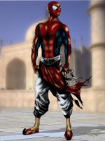 Spiderman India by sukhamrit