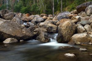 Boulders on the River by MarkLucey