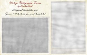 Vintage Photography Frames by XiuLanStock