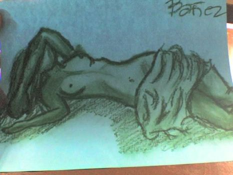 NUDE DRAWING by certifiedtkdchiq25