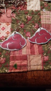Akatsuki Cloud Earrings by MaiShark