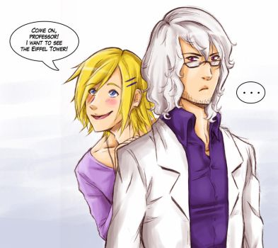 New comic preview by Brenna-Ivy