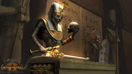 Tomb King by EthicallyChallenged