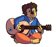 Bodi Practicing by Kame-Ghost