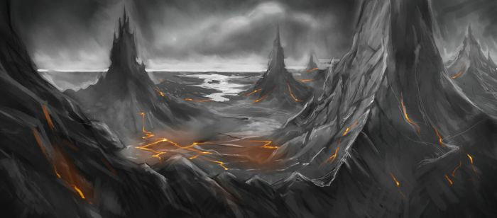 Mordor... Or Something? by ravens-raziel