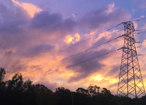 Clouded Sunset - Northern Midlands, Tasmania by MK-FouR