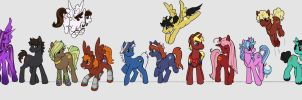 Pony INVASION by Doodlee-a