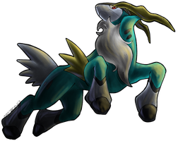 Cobalion -for collab pokedex-