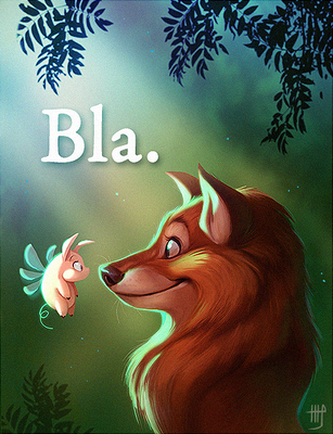 Bla. by VixieArts