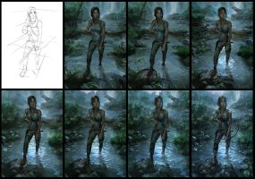 Tomb-Raider-Reborn-steps by Sanchiko