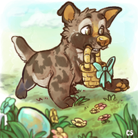 PuppyEgghunt by Colonels-Corner