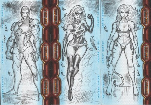 Ironman 2 Sketchcards.02 by RyanKinnaird