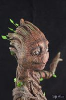 [Garage kit painting #14] Baby Groot statue - 012 by DasArt