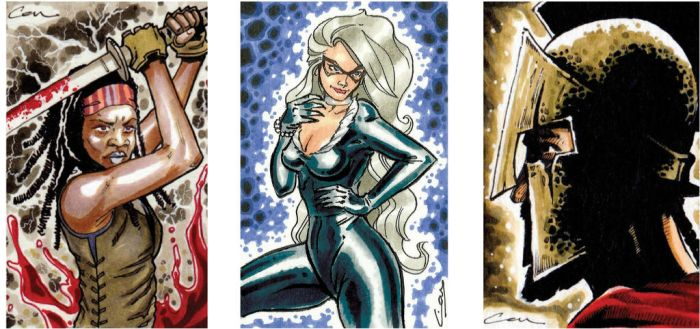 Sketch card samples 3 by canthebaran