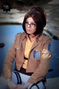 Hanji Zoe - Sometimes you just need to think by B3Y3LL0W