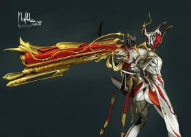 Commission: Valkyr Prime by Hassly
