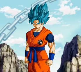 Alternative History. Goku DBH by Koku78