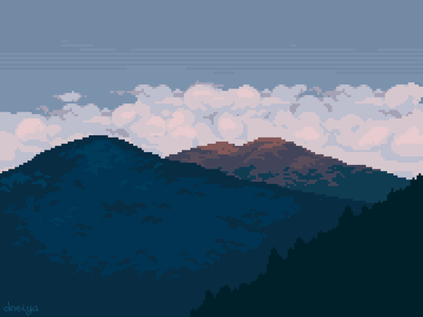 mountains by Horny-ulitas