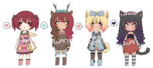 Adopts 007 [CLOSED] by WanNyan