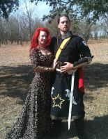 Cotehardie and tunic  for SCA by The-Dark-Horse