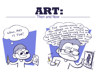 Art: Then and Now by JKRiki