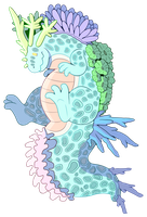 Coral Reef Pudger Auction (CLOSED) by FeralGator