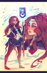 [+VIDEO] Commission: Sailor Charon - REBIRTH by ZARINAABZALILOVA