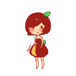 Apple by lynniderp