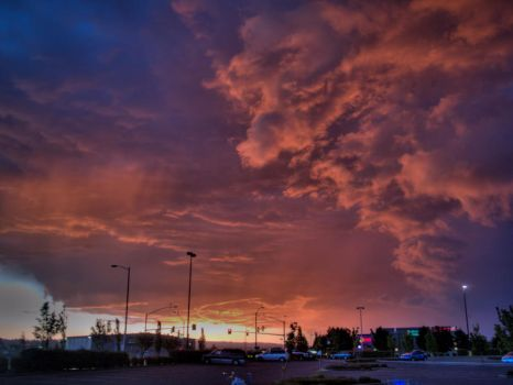 The Sky Is On Fire 2 by mshdillon81
