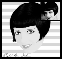 Louise Brooks by thispicture