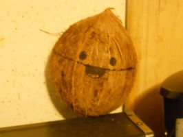 Philip The Coconut REAL by Busted-Love