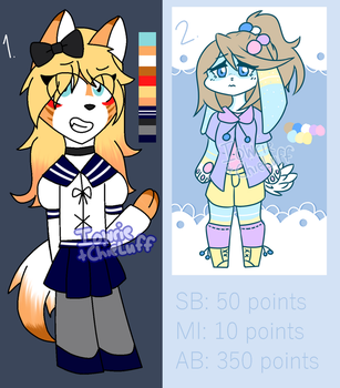 (1/2, OPEN) Leftover Collab Adopts by Iowrie