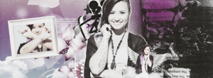 +Demi Lovato Psd Header by SilaEOfficial