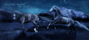 Fighting against the Night by ibbeltje-com