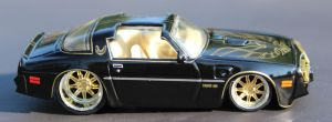 Black Trans Am by boogster11