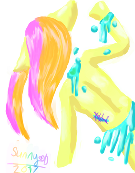 Candy-Pastel Gore Speed Paint by MlpSunnySprinkles