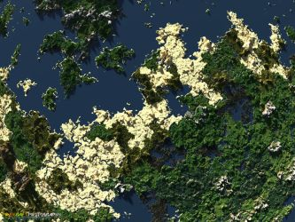 Biomes of Discovery | Giant Minecraft Render by MinecraftPhotography