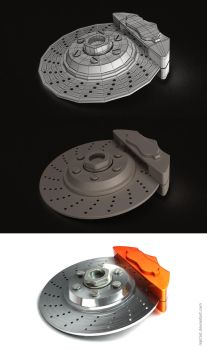 Process: Brake disc by mpt1st