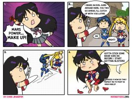 Pretty Soldier Sailor Mars comic by Chibi-Jennifer