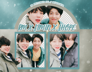 Pack Png 1009 // RM x Jimin x J-Hope (BTS) by BEAPANDA
